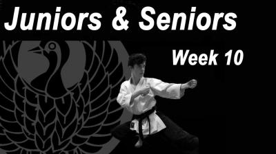 Juniors/Seniors week 10
